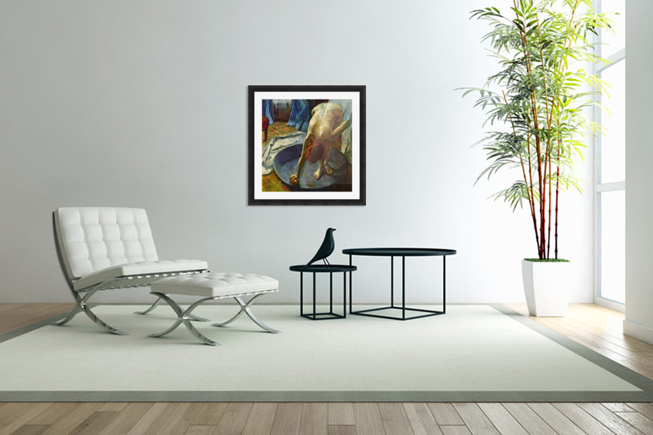 The Tub by Degas in Custom Picture Frame