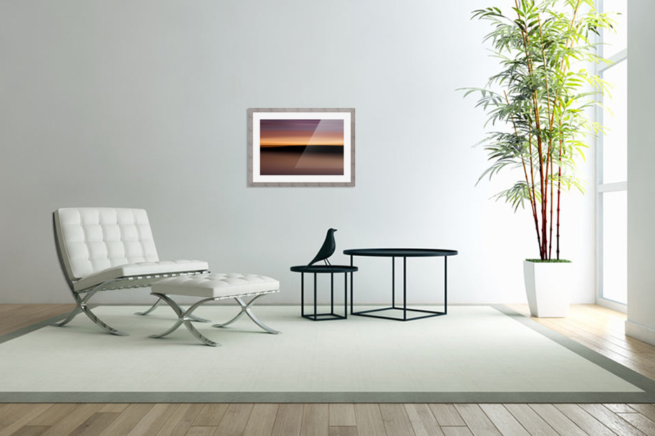 Sunset Motion in Custom Picture Frame