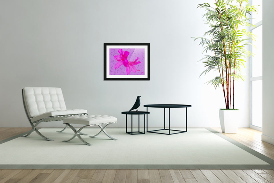 Think Pink in Custom Picture Frame