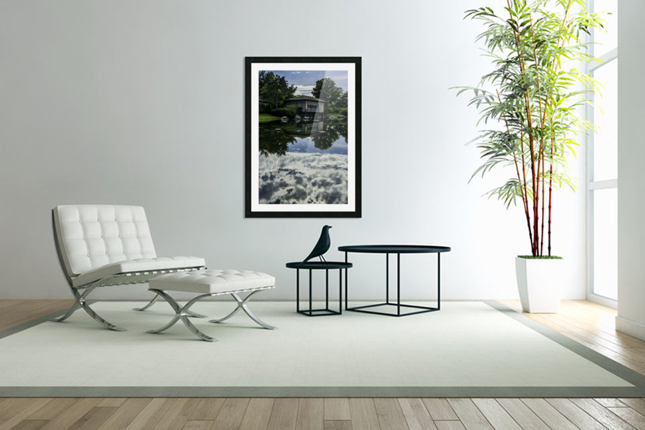 Reflections in Custom Picture Frame