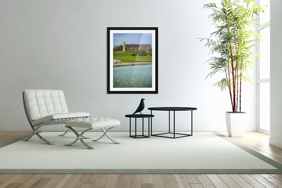 Quiet Space in the City in Custom Picture Frame