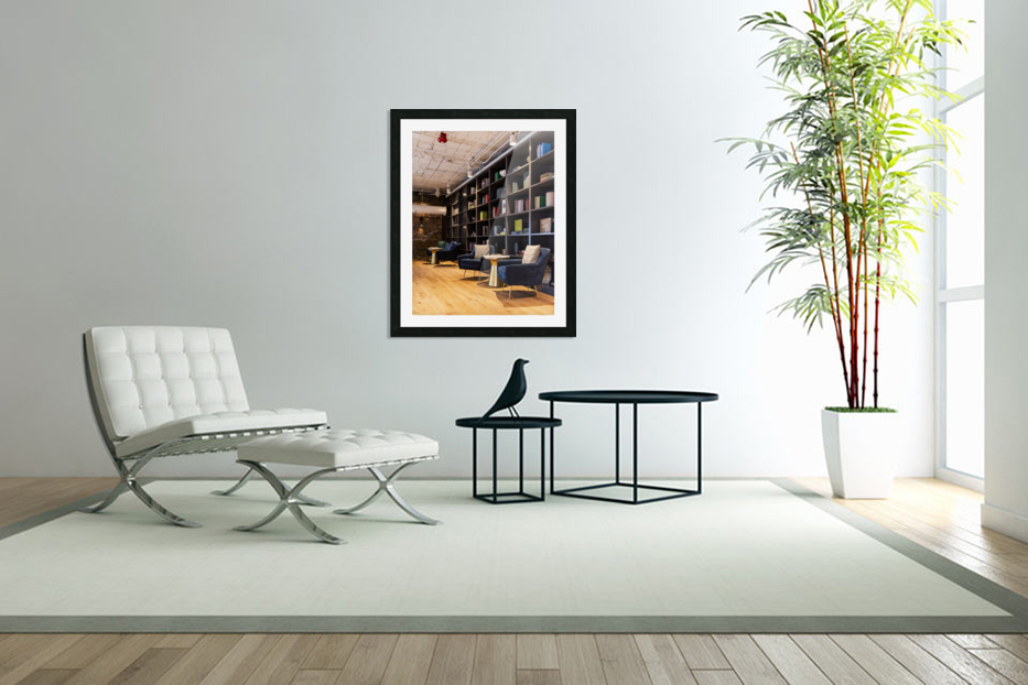 A Quiet Space in Custom Picture Frame