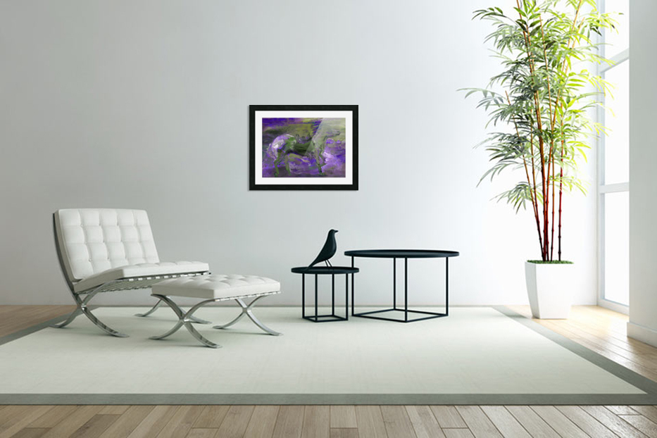Ghost Rider - Violet in Custom Picture Frame