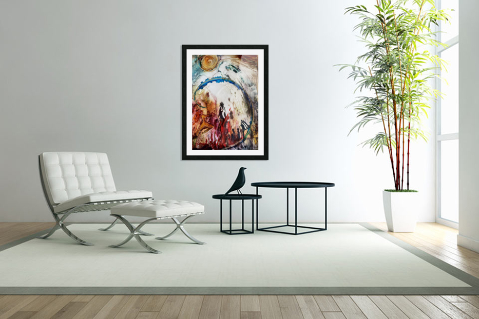 Ascension in Custom Picture Frame