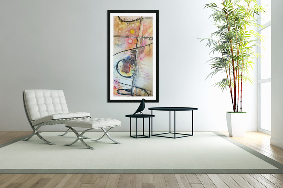 High Frequency  in Custom Picture Frame