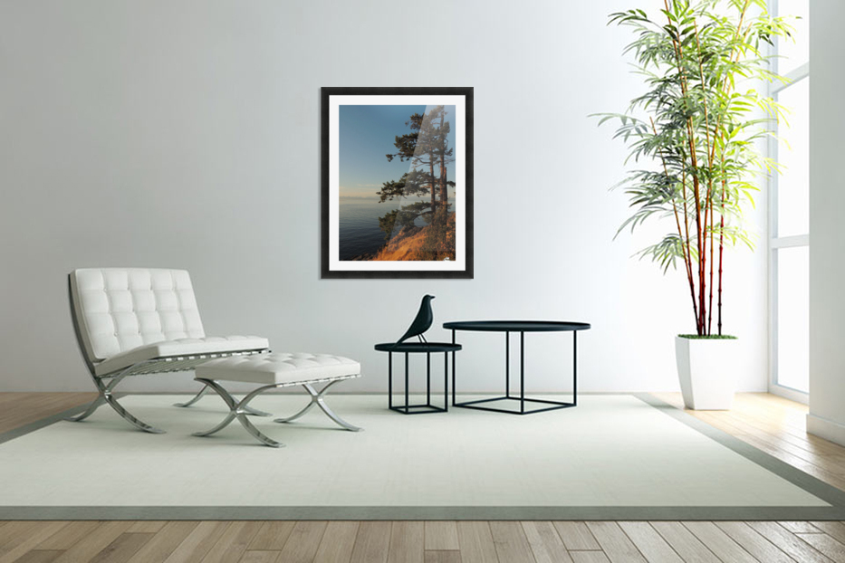 Standing Tall in Custom Picture Frame