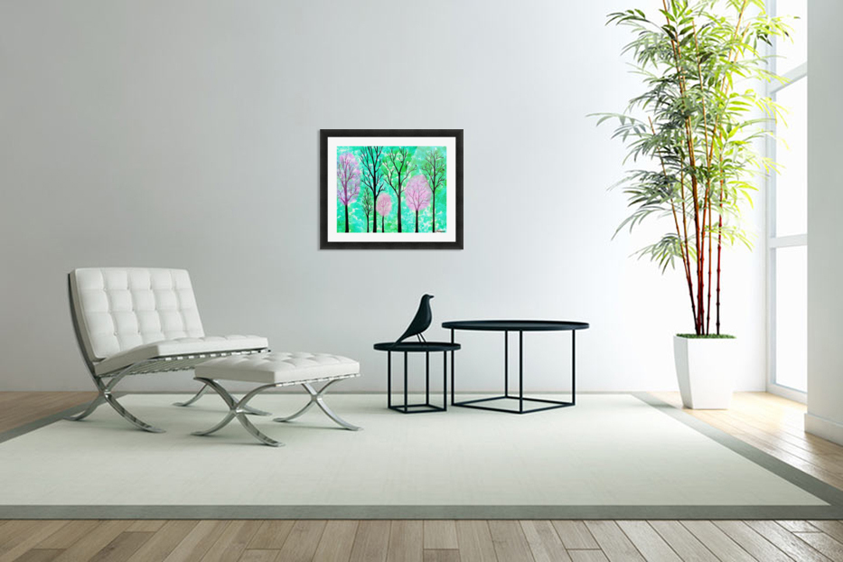 Spring Forest in Custom Picture Frame