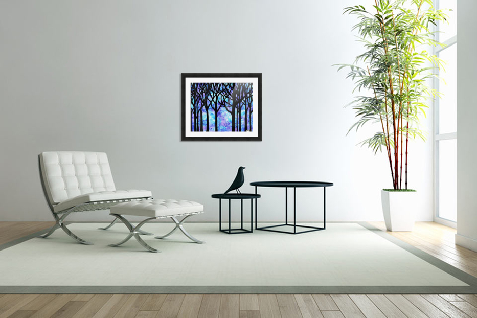 Frozen Forest in Custom Picture Frame