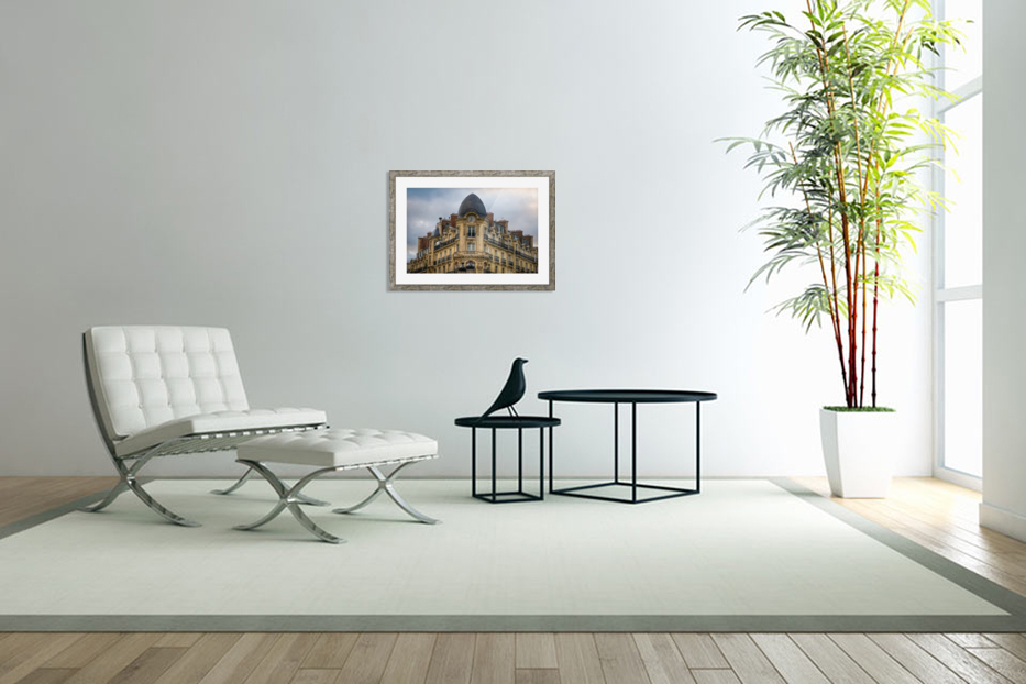 Paris Style in Custom Picture Frame