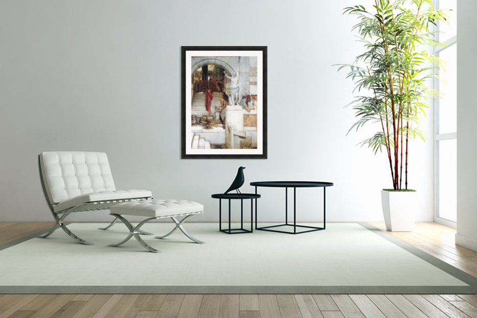 After the Audience by Alma-Tadema in Custom Picture Frame