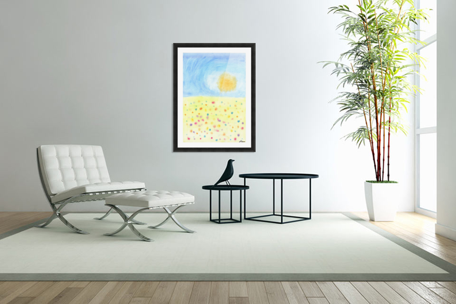 Nature - pop art in Custom Picture Frame