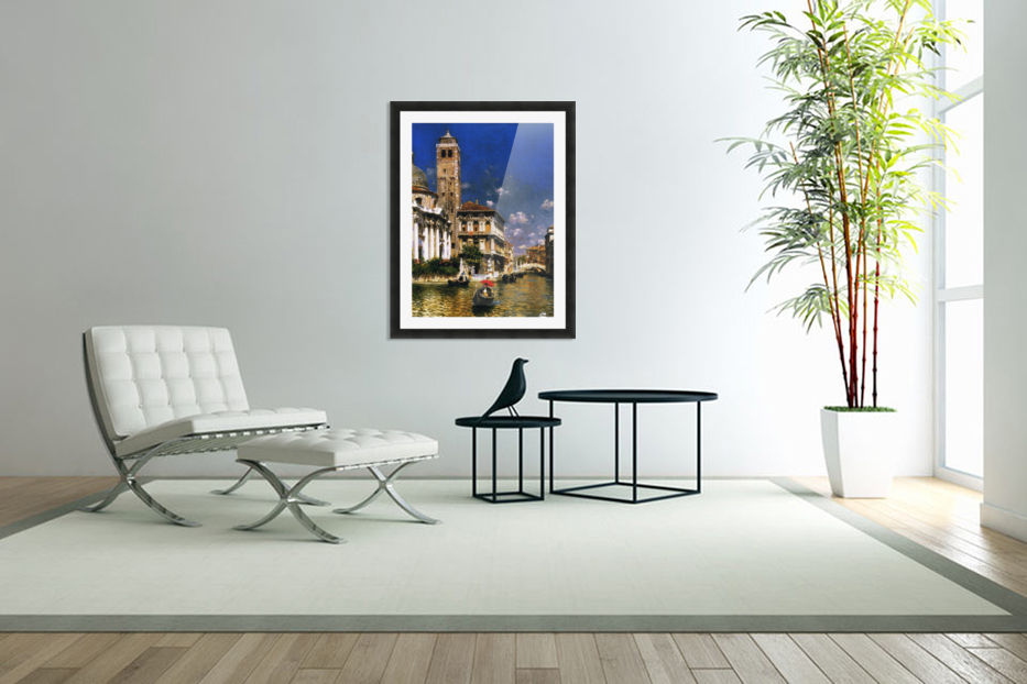 San Geremia, with Palazzo Labia, Venice in Custom Picture Frame