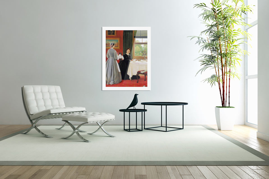 Afternoon Tea in Custom Picture Frame