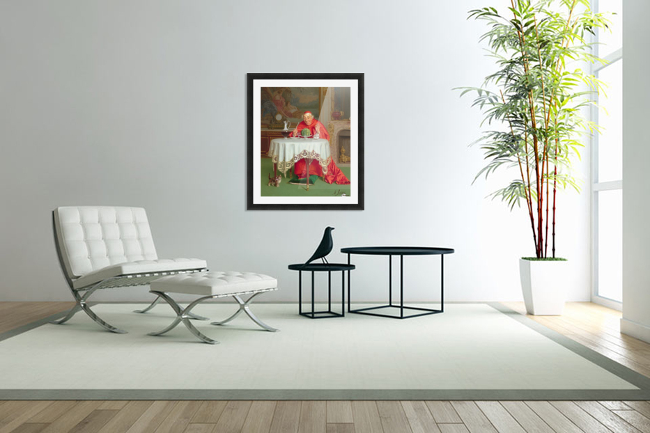 The melon in Custom Picture Frame