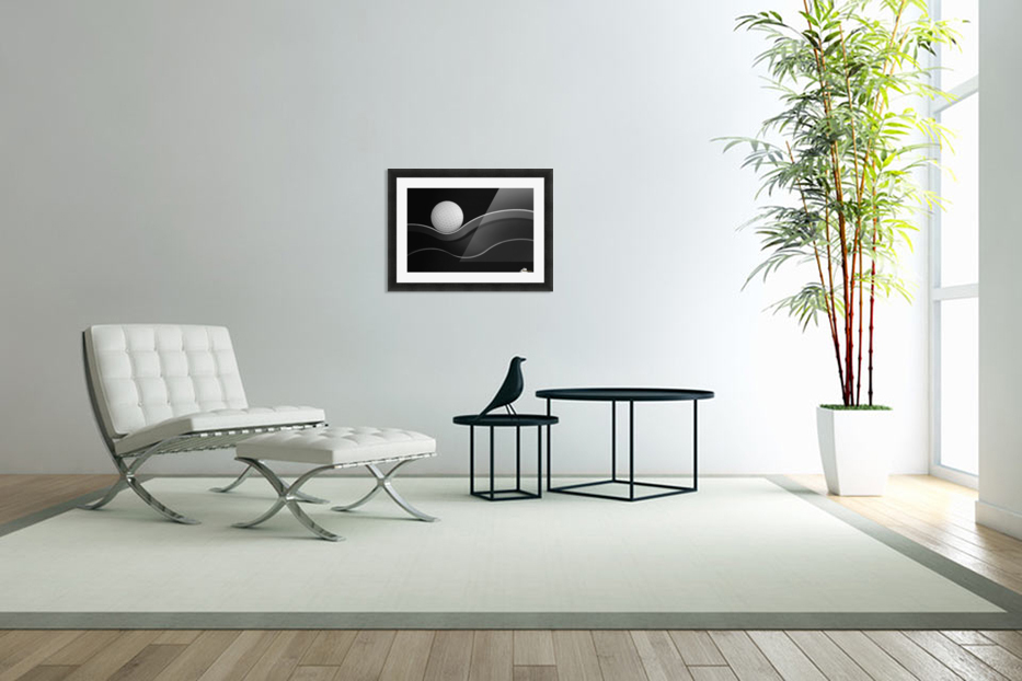 Craters and Curves in Custom Picture Frame