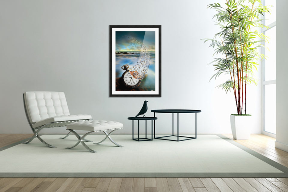The Vanishing Time in Custom Picture Frame