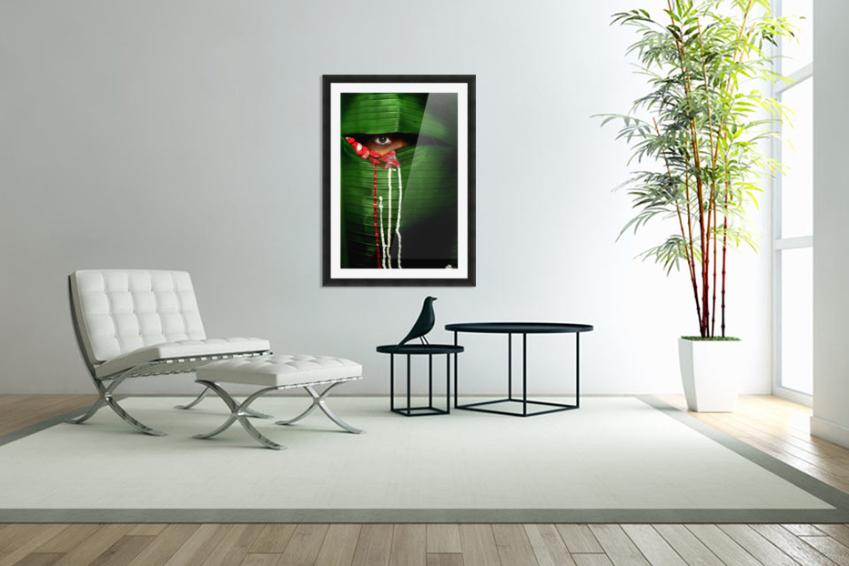 Mysterious Eye in Custom Picture Frame