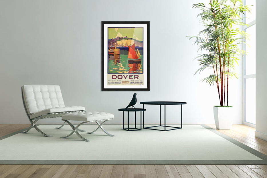 Dover Southern Railway in Custom Picture Frame
