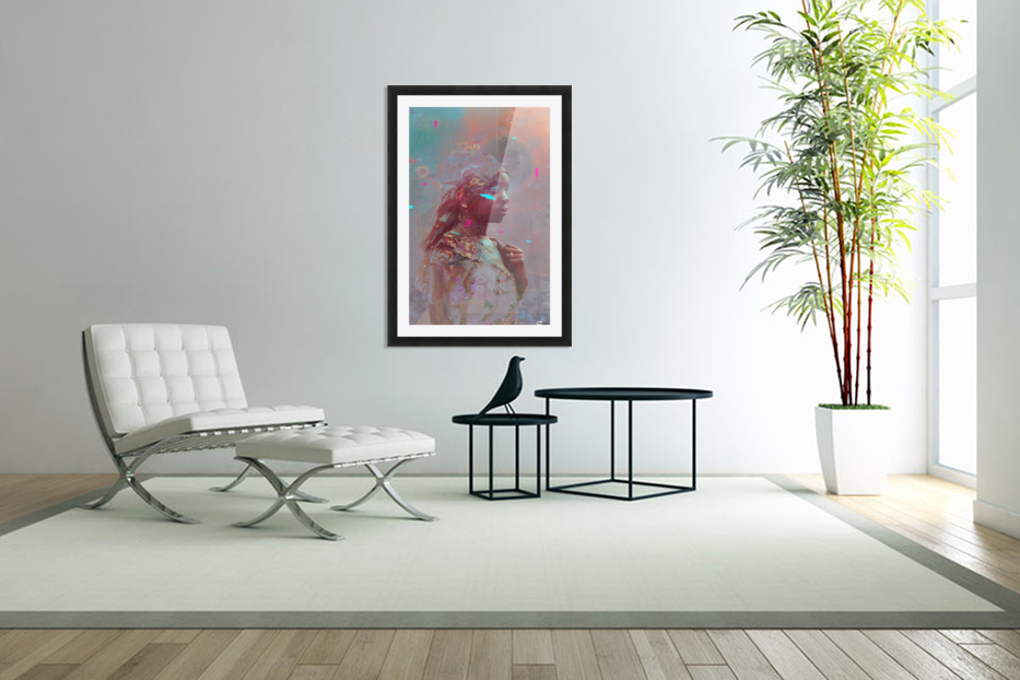africa  in Custom Picture Frame