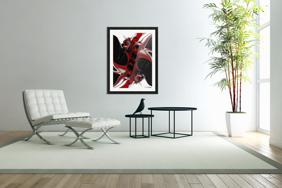 Act with Intuitive Creation in Custom Picture Frame