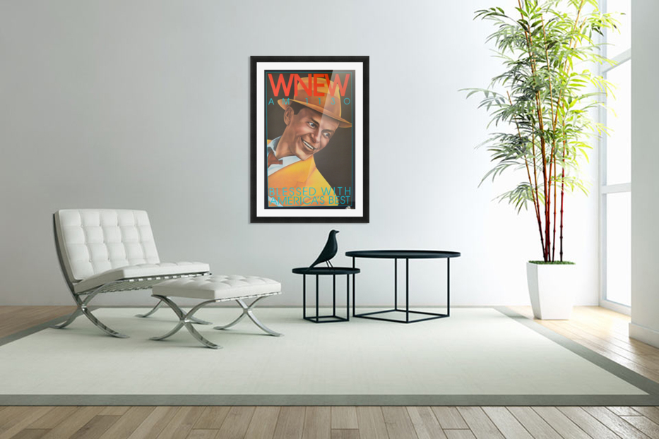 WNEW in Custom Picture Frame