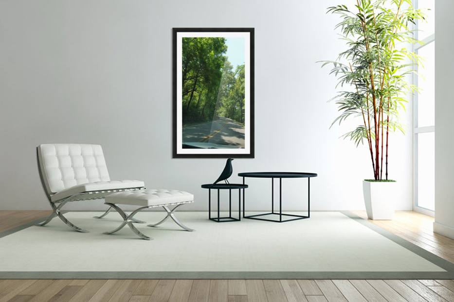 The Countryside in Custom Picture Frame