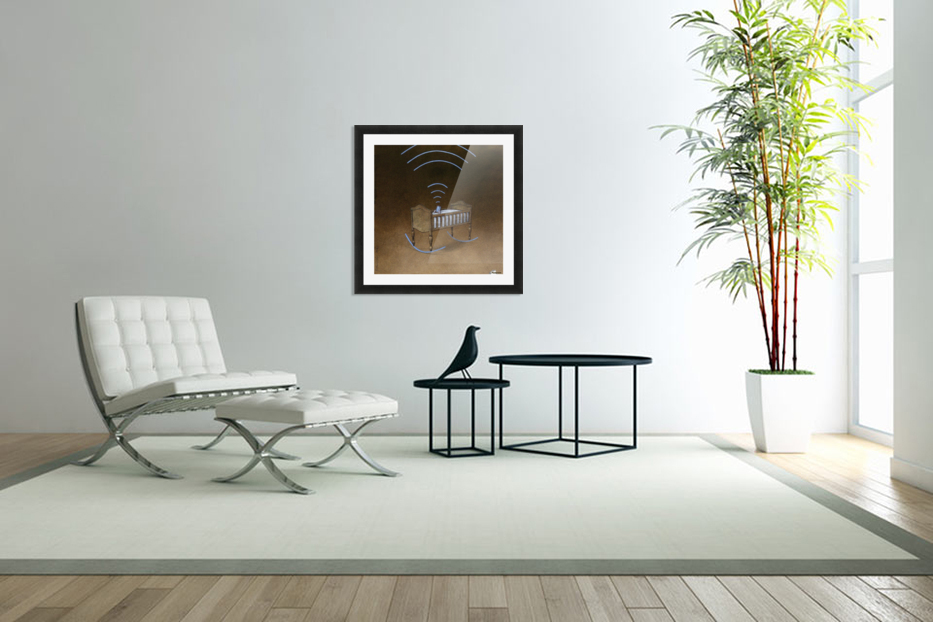 wireless in Custom Picture Frame