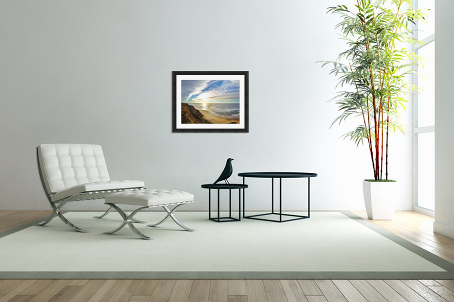 Highway 1  in Custom Picture Frame