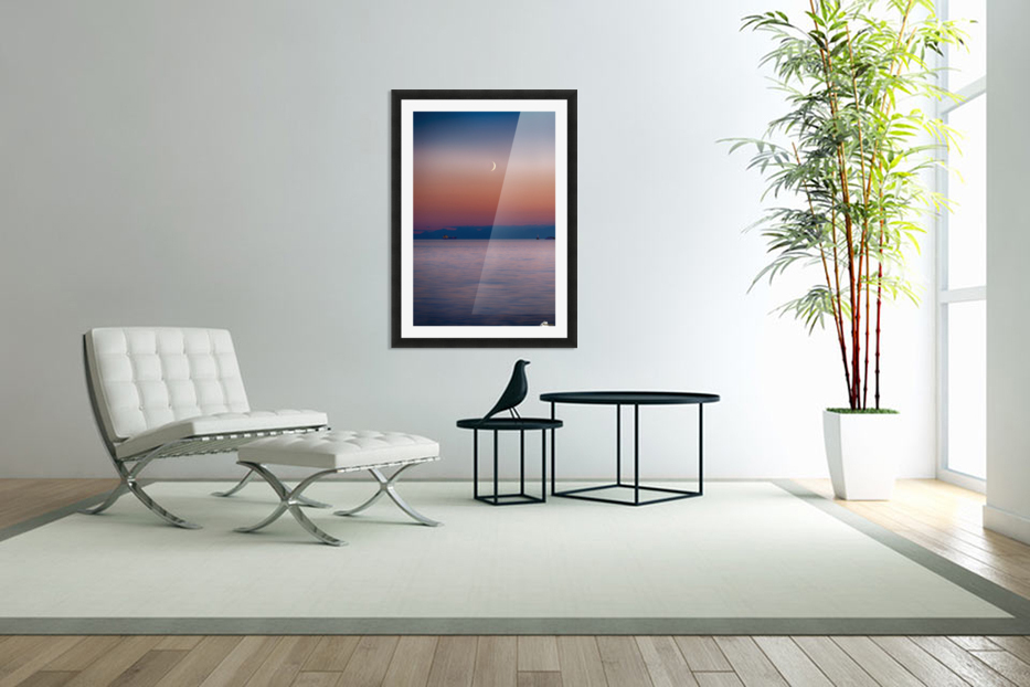 Sunset in Custom Picture Frame