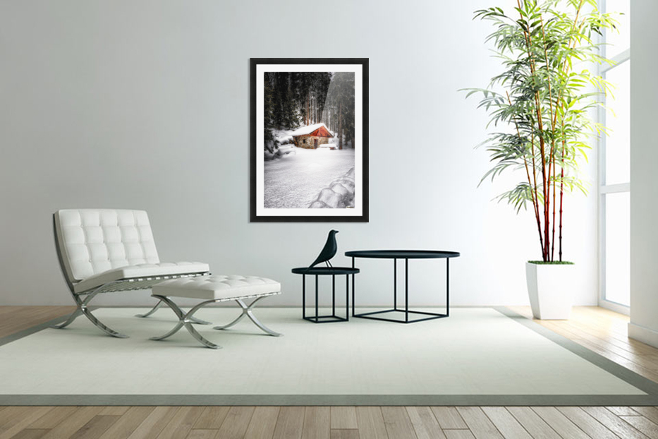The Alps in Custom Picture Frame