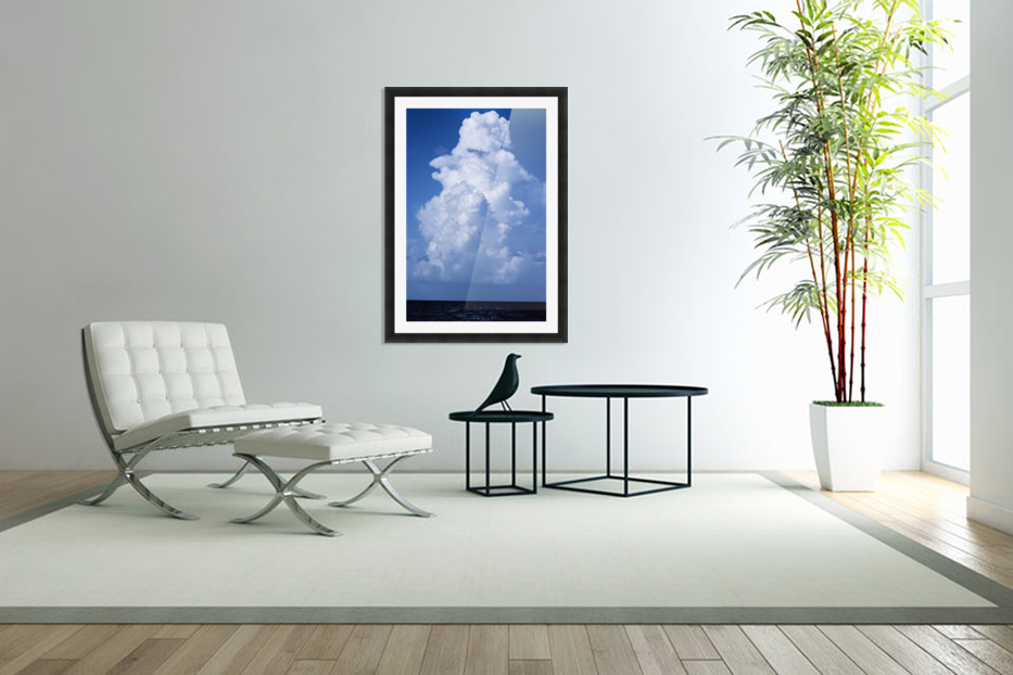 Billowing in Custom Picture Frame