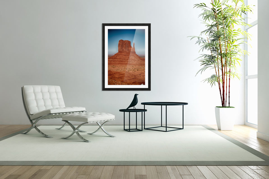 Monument Valley 4 in Custom Picture Frame