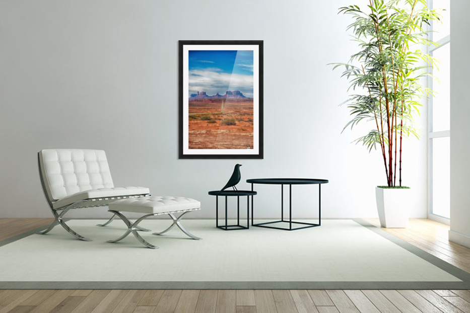 Monument Valley 1 in Custom Picture Frame