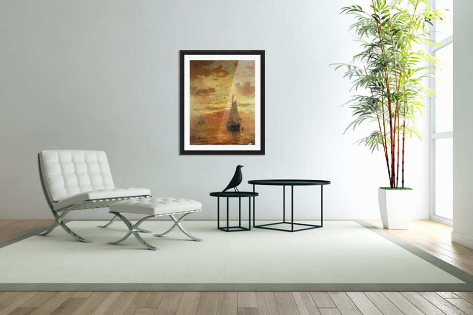 Summer evening in Custom Picture Frame