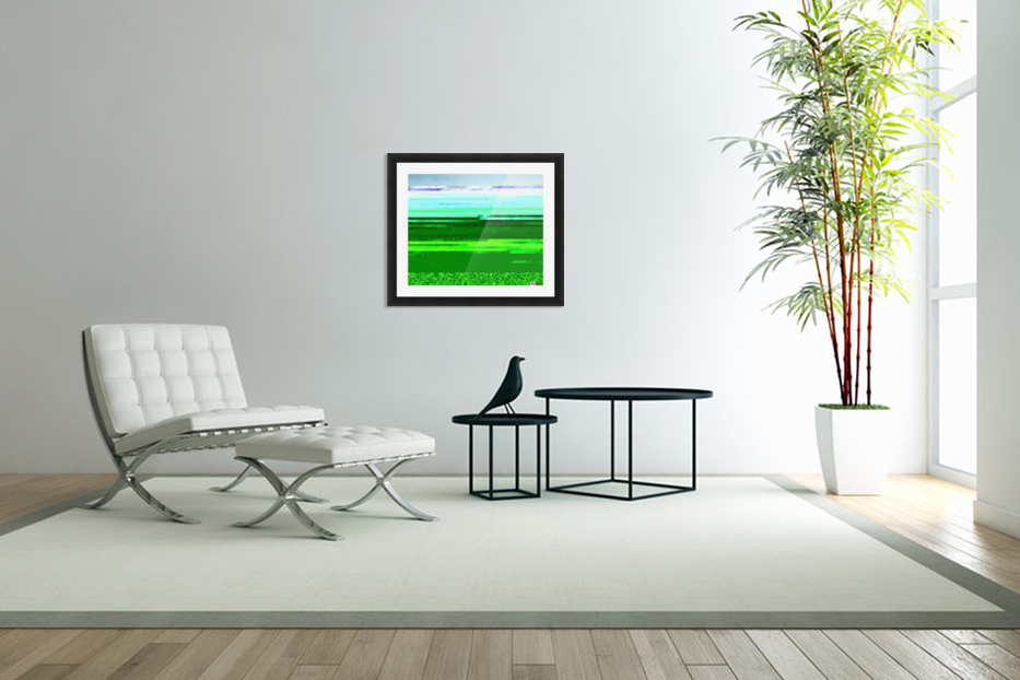 An Oasis at Giza in Custom Picture Frame