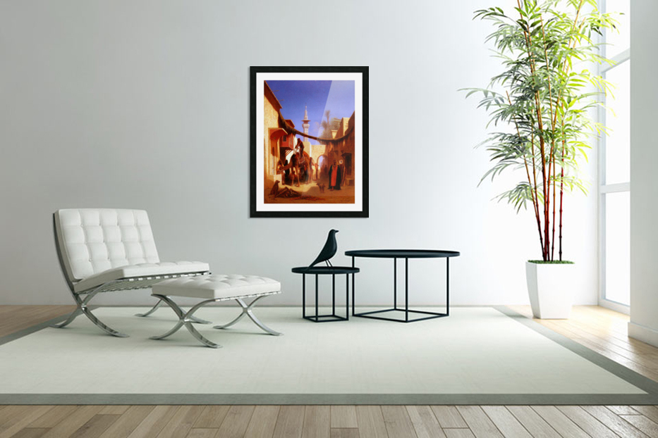 Street in Cairo in Custom Picture Frame