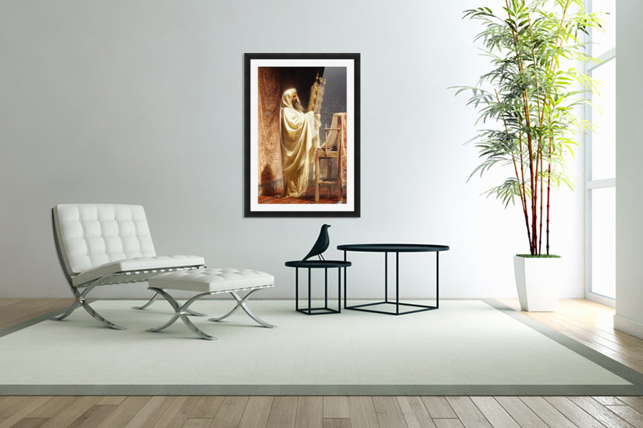 The High Priest of the Samarian in Custom Picture Frame