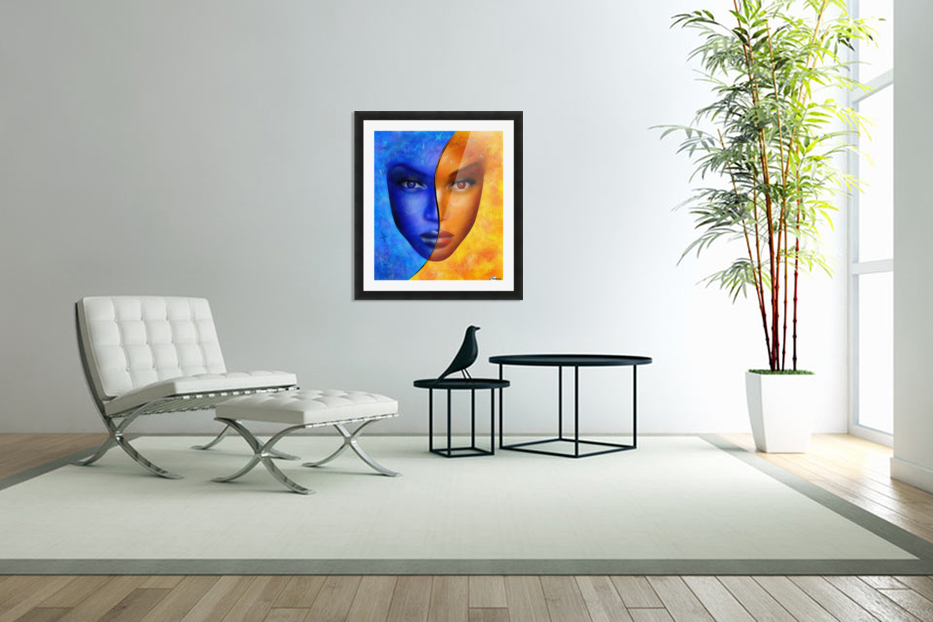 Frescanilla - the mirage in Custom Picture Frame