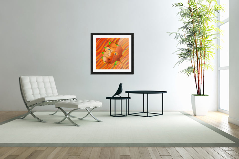 Alessinium - beauty curves in Custom Picture Frame