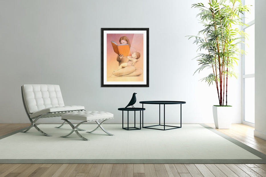 eating time in Custom Picture Frame