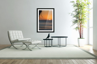 Taking a moment to watch the sunrise  Acrylic Print