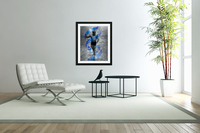 Cobble-Stone Physique with EAS DNA swirl   Acrylic Print