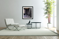 Abandoned Mansion Library  Acrylic Print