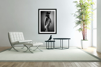 Nude woman with a hat  Acrylic Print