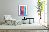 Abstract Geometric Space 3  Acrylic Print