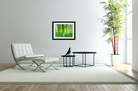 Moving Trees 12 Green Landscape 52-70 360px  Acrylic Print