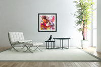 Modern Digital Abstract Painting  Acrylic Print