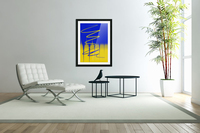 interaction of colors  Acrylic Print