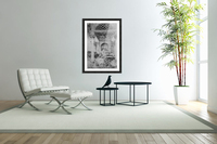 The holy family in a hall  Acrylic Print