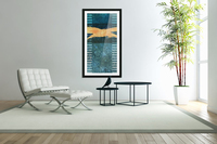 Swash & Cadence in Teal 1x2  Acrylic Print